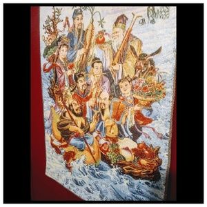 Other - Tapestry Chinese eight immortals